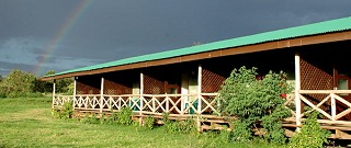 Rhino Lodge.